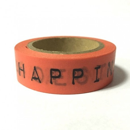 """WASHI TAPE """"HAPPINESS IS"""""""