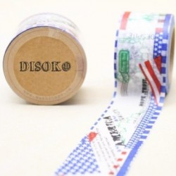 CINTA ADHESIVA WASHI TAPE 30 MM X 10 METROS DS-101