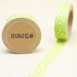 CINTA ADHESIVA WASHI TAPE 15 MM X 10 METROS DS-108