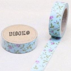 CINTA ADHESIVA WASHI TAPE 15 MM X 10 METROS DS-132